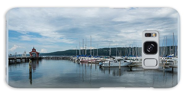 Seneca Lake Harbor - Watkins Glen - Wide Angle Galaxy Case
