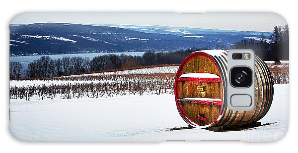Seneca Lake Winery In Winter Galaxy Case