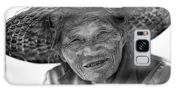 Senior Vendor Thai Woman Galaxy Case