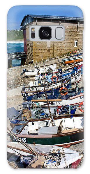 Sennen Cove Fishing Fleet Galaxy Case