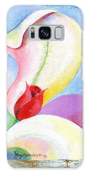 Sensitive Touch Galaxy Case by Mary Armstrong