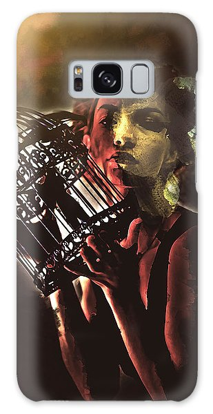 Sentence Portrait Galaxy Case