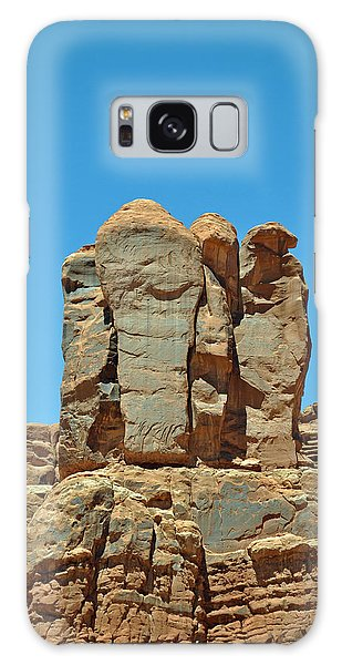 Sentinels In Arches National Park Galaxy Case