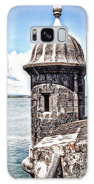 Sentry Box In El Morro Hdr Galaxy Case by The Art of Alice Terrill