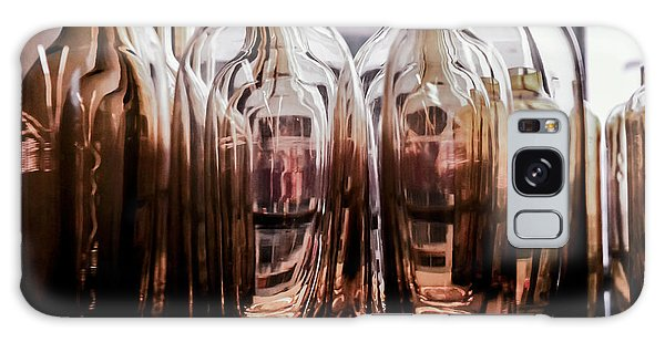 Sepia Bottles Galaxy Case by Craig Perry-Ollila