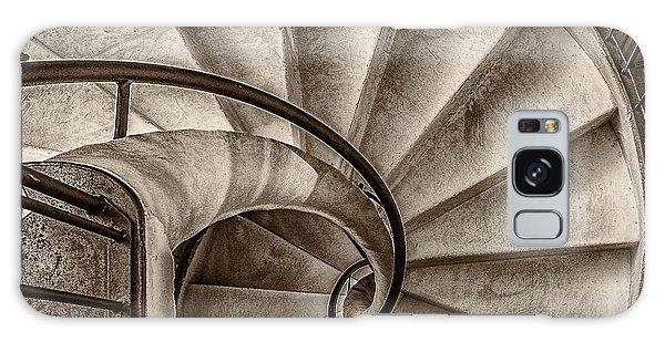 Sepia Spiral Staircase Galaxy Case