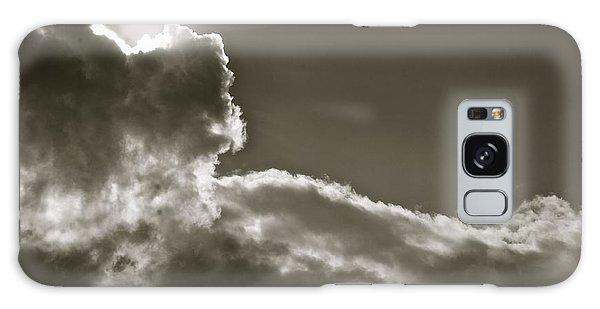 Sepia Sun Ray Galaxy Case