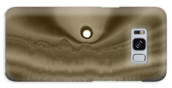 Sepia Sunrise Galaxy Case