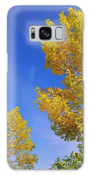 September Sky Galaxy Case by Debi Dmytryshyn