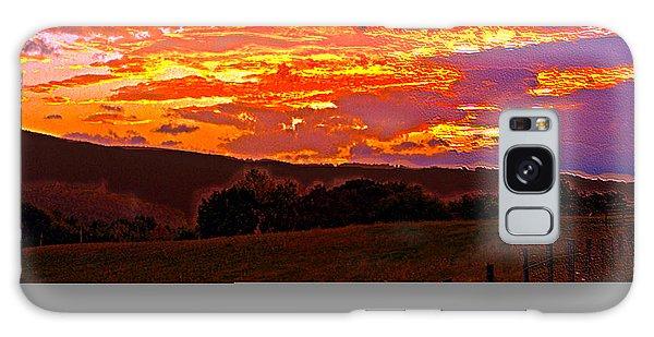 September Smokies Sunrise Galaxy Case by Jeff Kurtz