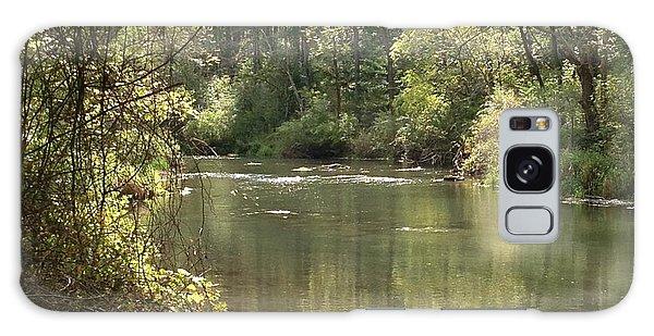 September Spring Creek Galaxy Case