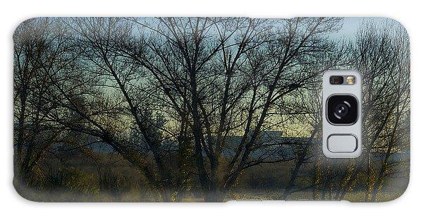 Sepulveda Dam At Dawn On New Year's Day 2015 Galaxy Case