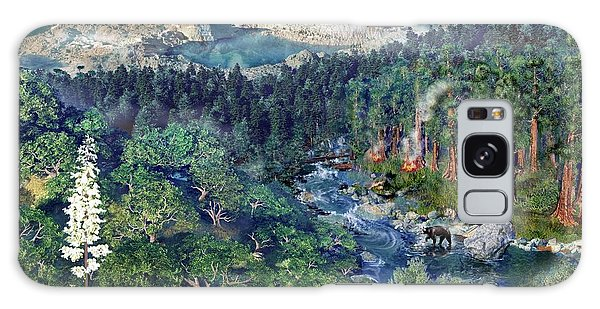Ecosystem Galaxy Case - Sequoia And Kings Canyon Ecology by Nicolle R. Fuller/science Photo Library