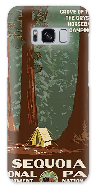 Sequoia National Park Galaxy Case