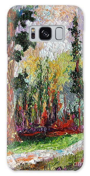 Sequoia Path National Parks  Galaxy Case by Ginette Callaway