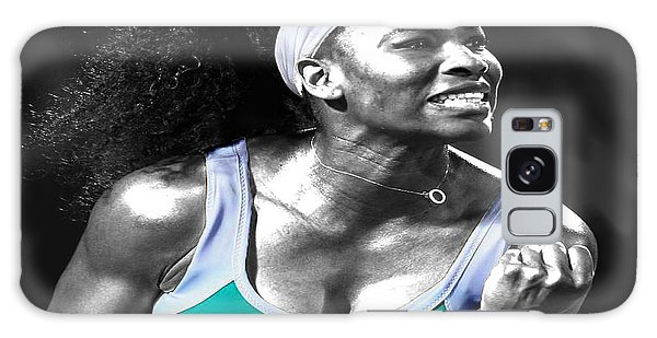 Serena Williams Ace Galaxy Case by Brian Reaves