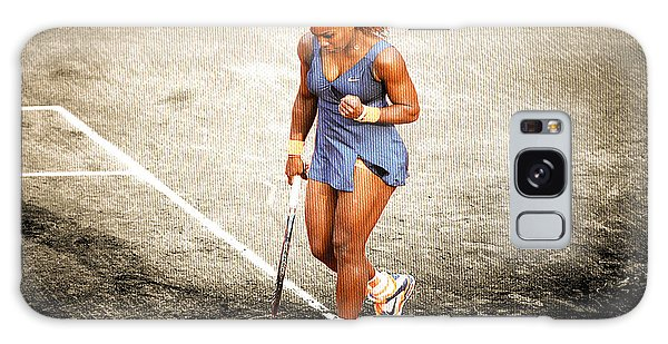 Serena Williams Count It Galaxy Case by Brian Reaves