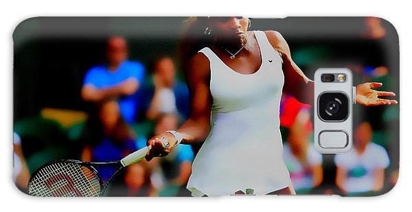 Serena Williams Making It Look Easy Galaxy Case by Brian Reaves