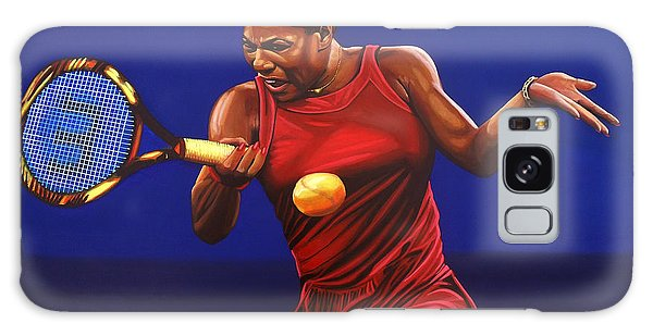 Sportsman Galaxy Case - Serena Williams Painting by Paul Meijering