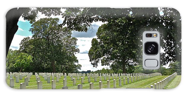 Serene Jefferson Barracks Galaxy Case