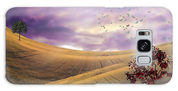 Serene Landscape Galaxy Case