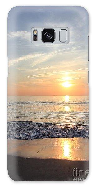 Serene Ocean Sunrise Galaxy Case by Mary Haber