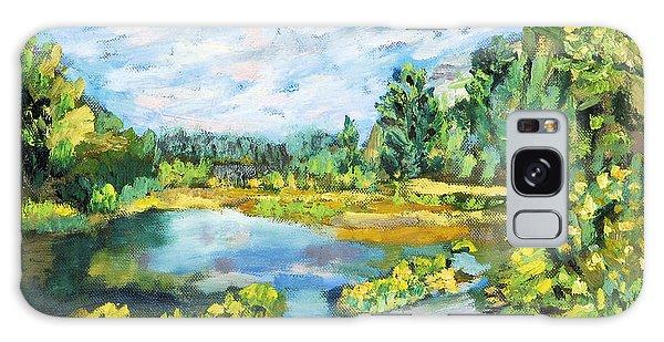 Serene Pond Galaxy Case