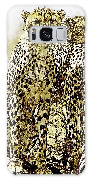 Serengeti Cheetahs 2 Galaxy Case