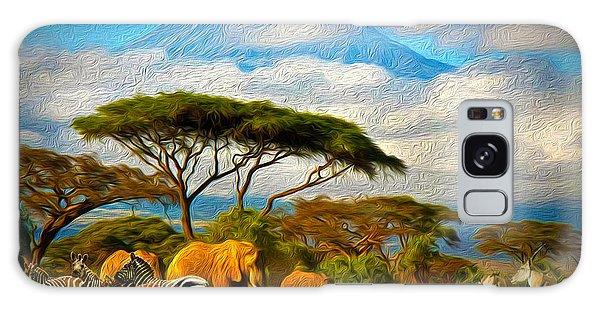 Serengeti Galaxy Case