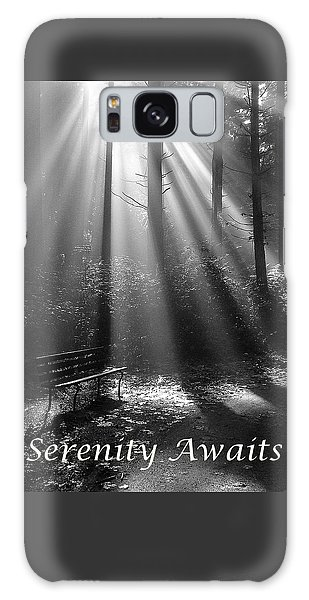 Serenity Awaits Galaxy Case by Brian Chase
