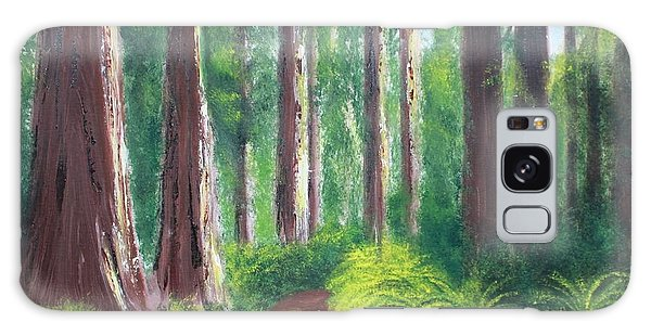 Serenity Forest Galaxy Case by Bev Conover