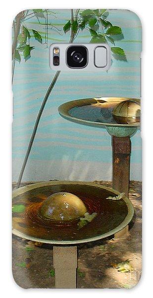 Serenity  Fountain Galaxy Case by Lyric Lucas