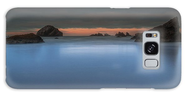 Serenity In Blue.... Bandon Galaxy Case by Tim Bryan