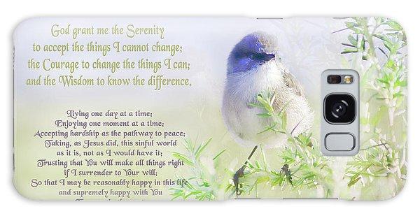 Serenity Prayer Galaxy Case