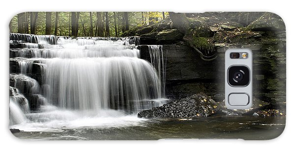 Galaxy Case featuring the photograph Serenity Waterfalls Landscape by Christina Rollo