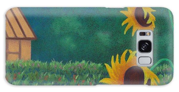 Sergi's Sunflowers Galaxy Case