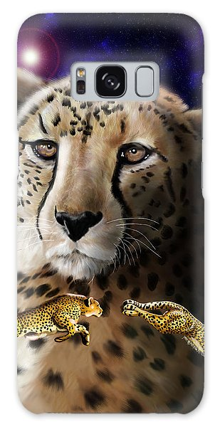 First In The Big Cat Series - Cheetah Galaxy Case