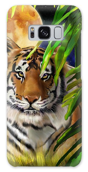 Second In The Big Cat Series - Tiger Galaxy Case by Thomas J Herring