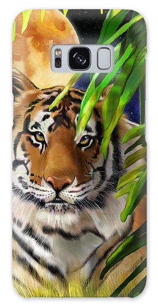 Second In The Big Cat Series - Tiger Galaxy Case