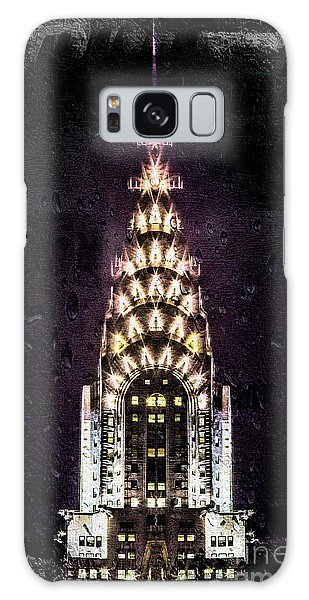 Chrysler Building Galaxy Case - Set In Stone by Az Jackson