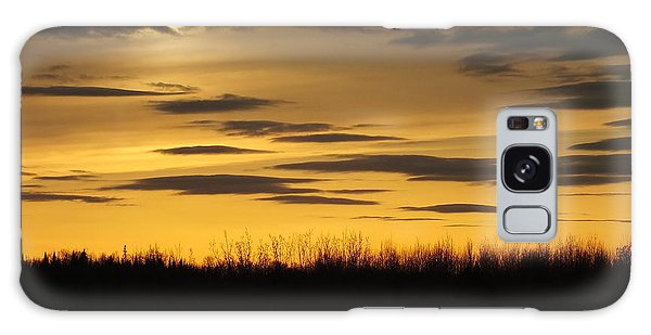 Galaxy Case featuring the photograph Setting Sun by Gene Cyr
