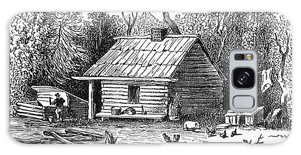 Settler's Log Cabin - 1878 Galaxy Case
