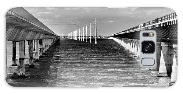 seven mile bridge BW Galaxy Case