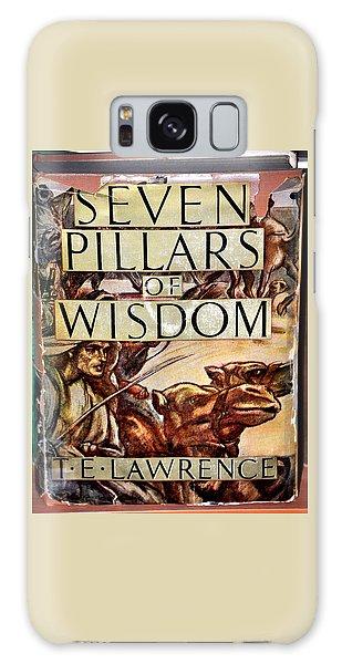 Seven Pillars Of Wisdom Lawrence Galaxy Case by Jay Milo