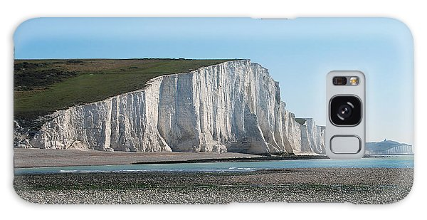 Seven Sisters Chalk Cliffs Galaxy Case