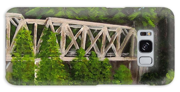 Sewalls Falls Bridge Galaxy Case