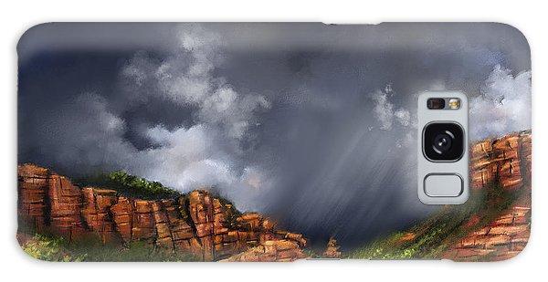 Thunderstorm In Sedona Galaxy Case