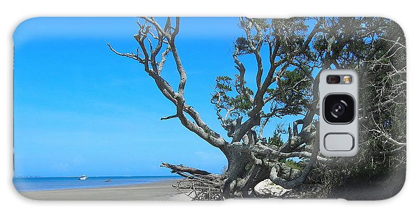 Shackleford Banks Tree 2 Galaxy Case
