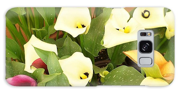 Shades Of Calla Lilies Galaxy Case