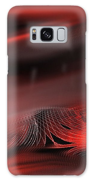 Shades Series Fire Red Galaxy Case